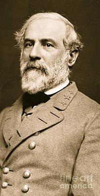 General Robert E Lee  Print by American School