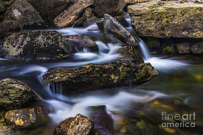 Gentle Flow Print by Ian Mitchell