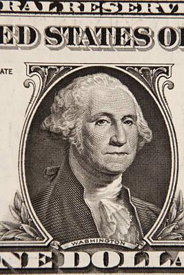 George Washington Photograph - George Washington by Les Cunliffe