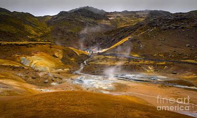 Geothermal Area Print by Svetlana Sewell