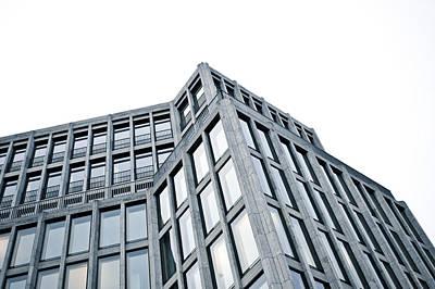 German Building Print by Tom Gowanlock