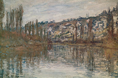 River View Painting - Giverny by Claude Monet