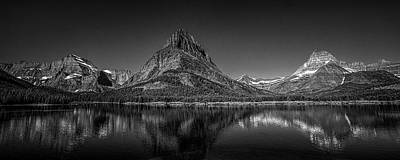 Mountains Photograph - Glacier Park Panorama by Andrew Soundarajan