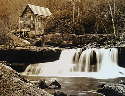 Glade Creek Grist Mill Original by Jack Paolini