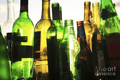 Glass Bottles Print by Brandon Tabiolo - Printscapes