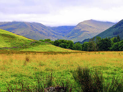 Ben Nevis Photograph - Glen Nevis, Scotland by Lyndsie Robinson