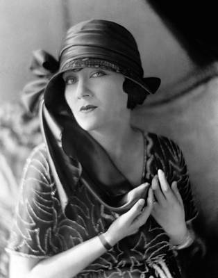 1920s Fashion Photograph - Gloria Swanson, 1921 by Everett