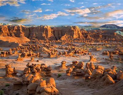 Goblin Valley State Park Utah Print by Utah Images