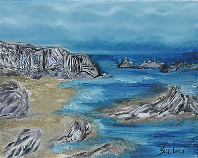 Painting - Gold Cove by Suzanne Surber
