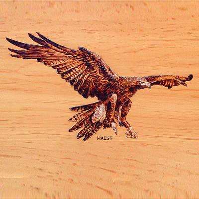Golden Eagle Print by Ron Haist