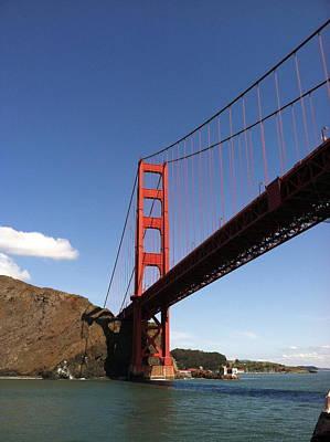 Golden Gate Bridge Print by Eliot Jenkins