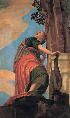 Veronese Painting - Good Government by Paolo Veronese