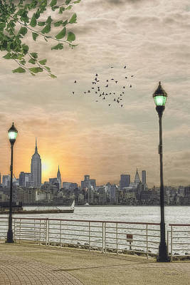 Good Morning New York Print by Tom York Images