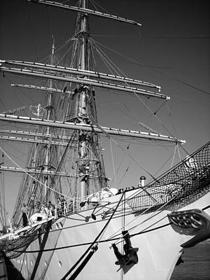 Windjammer Photograph - Gorch Fock ... by Juergen Weiss