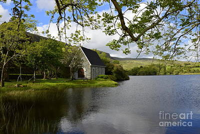 Gougane Barra Photograph - Gougane Barra  by Joe Cashin