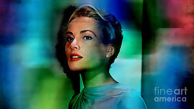 Grace Kelly Print by Marvin Blaine