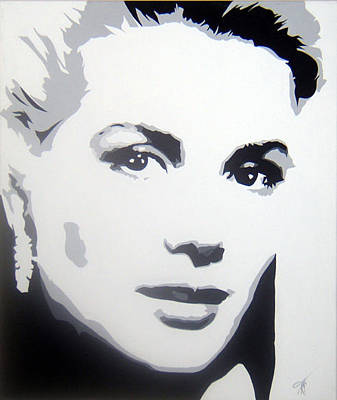 Grace Kelly Painting - Grace Kelly by Michael James Toomy