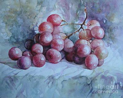 Grapes... Print by Elena Oleniuc