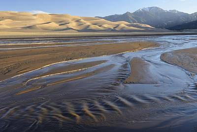 Great Sand Dunes Print by Christian Heeb