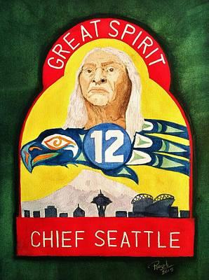 Great Spirit Seattle 12s Original by Rand Swift