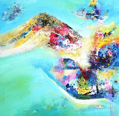 Painting - Green Harmony by Sanjay Punekar