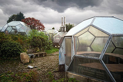 Green House From Out Of Space - Urban Exploration Print by Dirk Ercken