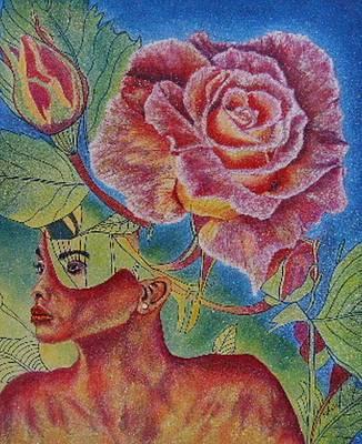 Painting - Growth Within by Shahid Muqaddim
