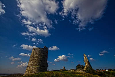 Hadleigh Castle Essex Print by David French