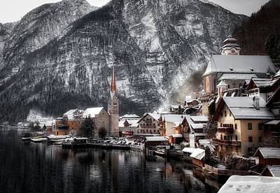 Hallstatt Photograph - Hallstatt Austria by Haitao Zeng