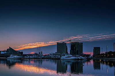 Waterview Photograph - Harbor Light by Jim Archer