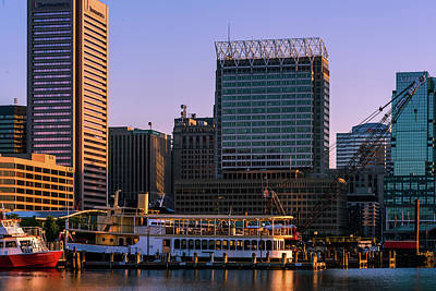 Waterview Photograph - Harbor Morning by Jim Archer