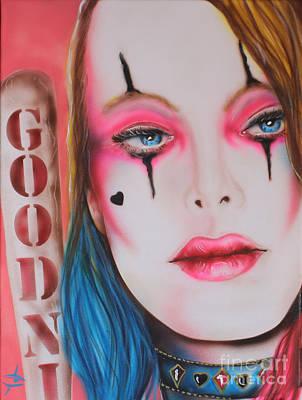 Margot Painting - Harley by John Sodja