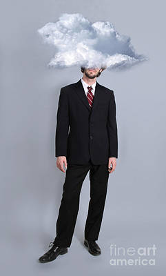 Head In The Clouds Print by Robin Treadwell