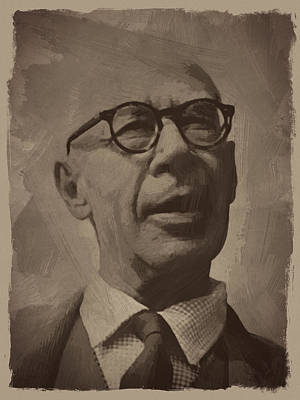 Henry Miller 2 Print by Afterdarkness