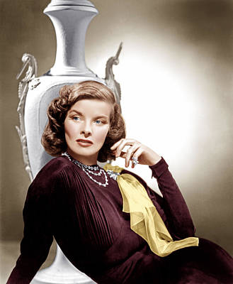 Ev-in Photograph - Holiday, Katharine Hepburn, 1938 by Everett