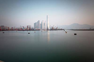 Hong Kong Harbour View Original by Kam Chuen Dung