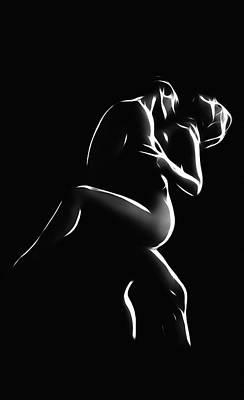 Sex Digital Art - Hot Night by Steve K