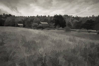 House In Decline  Print by Jon Glaser