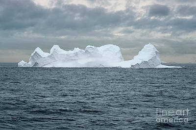 Mountains Photograph - Huge Tabular Iceberg Floating In Bransfield Strait Near The Northern Tip Of The Antarctic Peninsula, by Dani Prints and Images