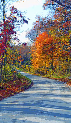 Indiana Country Road Image Print by Paul Price