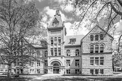 Indiana Photograph - Indiana University Kirkwood Hall  by University Icons