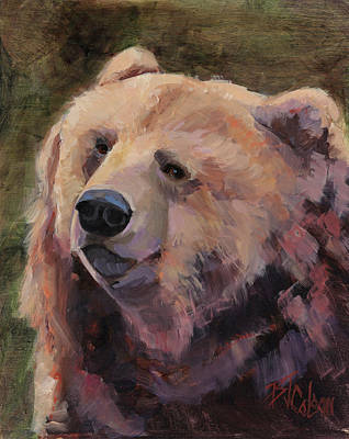 It's Good To Be A Bear Print by Billie Colson