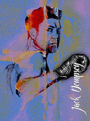 Jack Dempsey Collection Print by Marvin Blaine