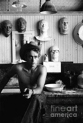Photograph - James Dean by Sanford Roth