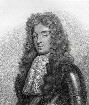 James II Aka Duke Of York 1633-1701 Print by Vintage Design Pics