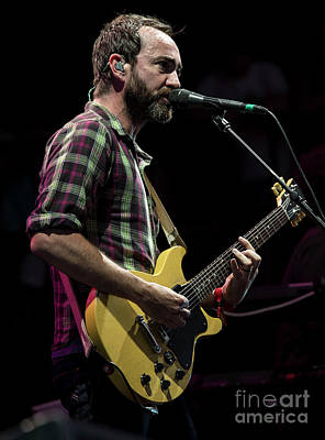 James Mercer With The Shins Print by David Oppenheimer