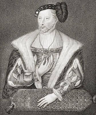 James V, King Of Scots, 1512 Print by Vintage Design Pics