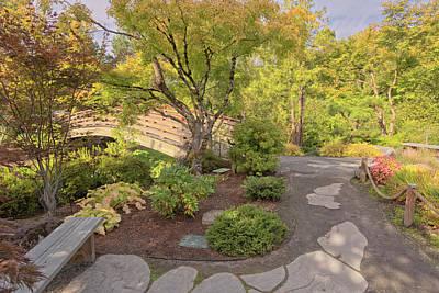 Japanese Garden In Gresham Oregon. Original by Gino Rigucci