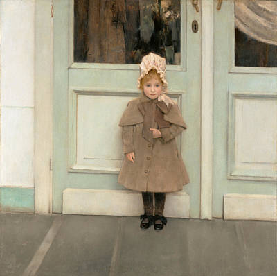 Fernand Khnopff Painting - Jeanne Kefer by Fernand Khnopff