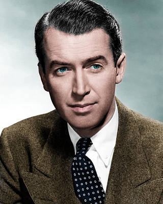 Beloved Photograph - Jimmy Stewart by Mountain Dreams